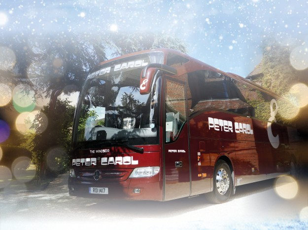 Christmas Luxury Coach Hire