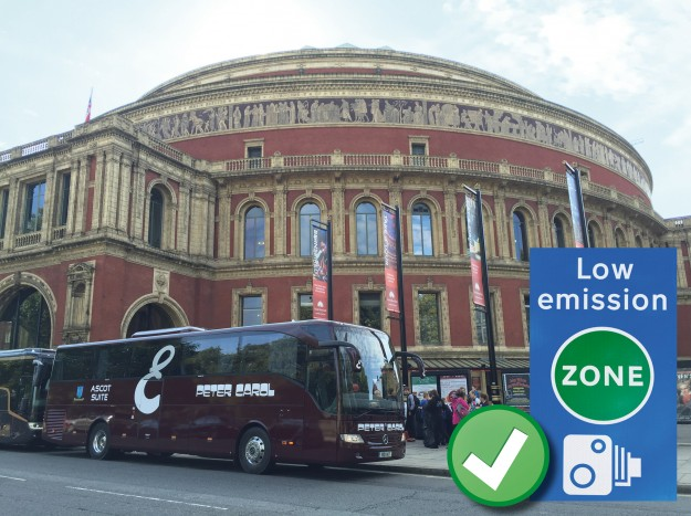 Low Emission Zone Coach Hire